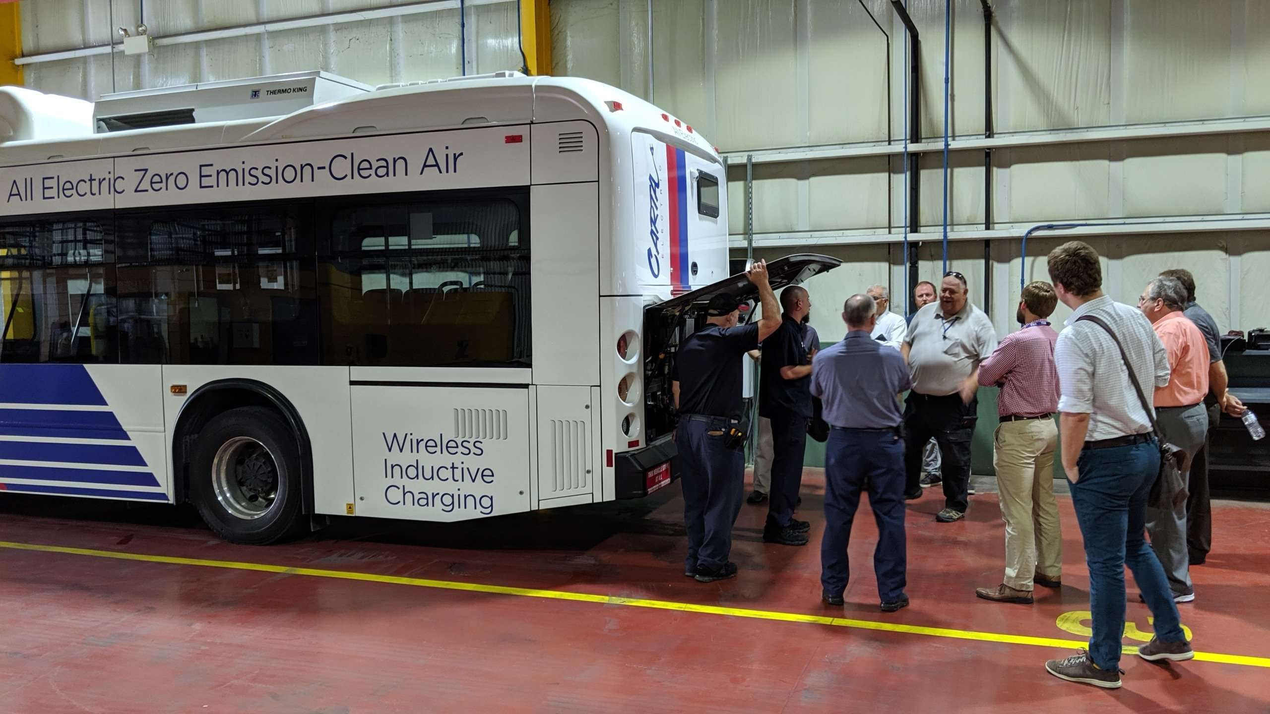 CARTA Electric Buses Tour - Held twice in 2019 to introduce citizens and businesses to the City of Chattanooga's electric mass transit bus fleet.