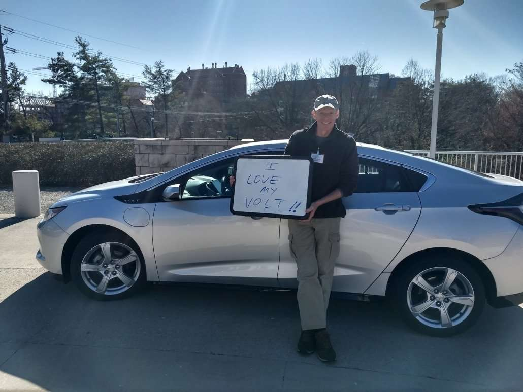 Marty and his 2016 Chevy Volt