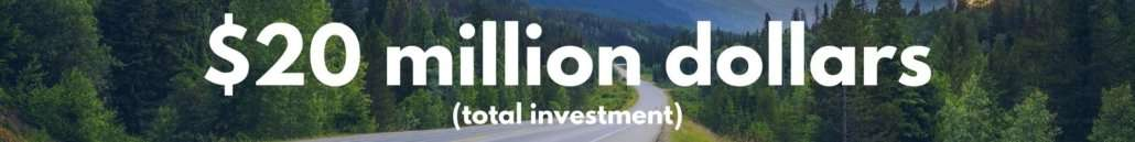 $20 million dollars to be invested by TVA and TDEC